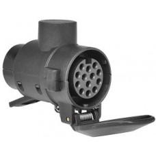 Adapter för släpvagnskoppling, 13 - 7 pol