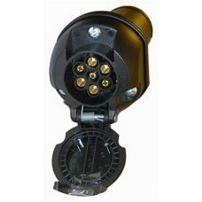 Adapter för Spänningsreducering 24-12v 7-7 pol