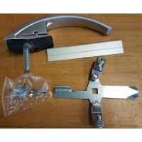 Dörrhandtag ny modell inkl. lås och nycklar Cheval liberté